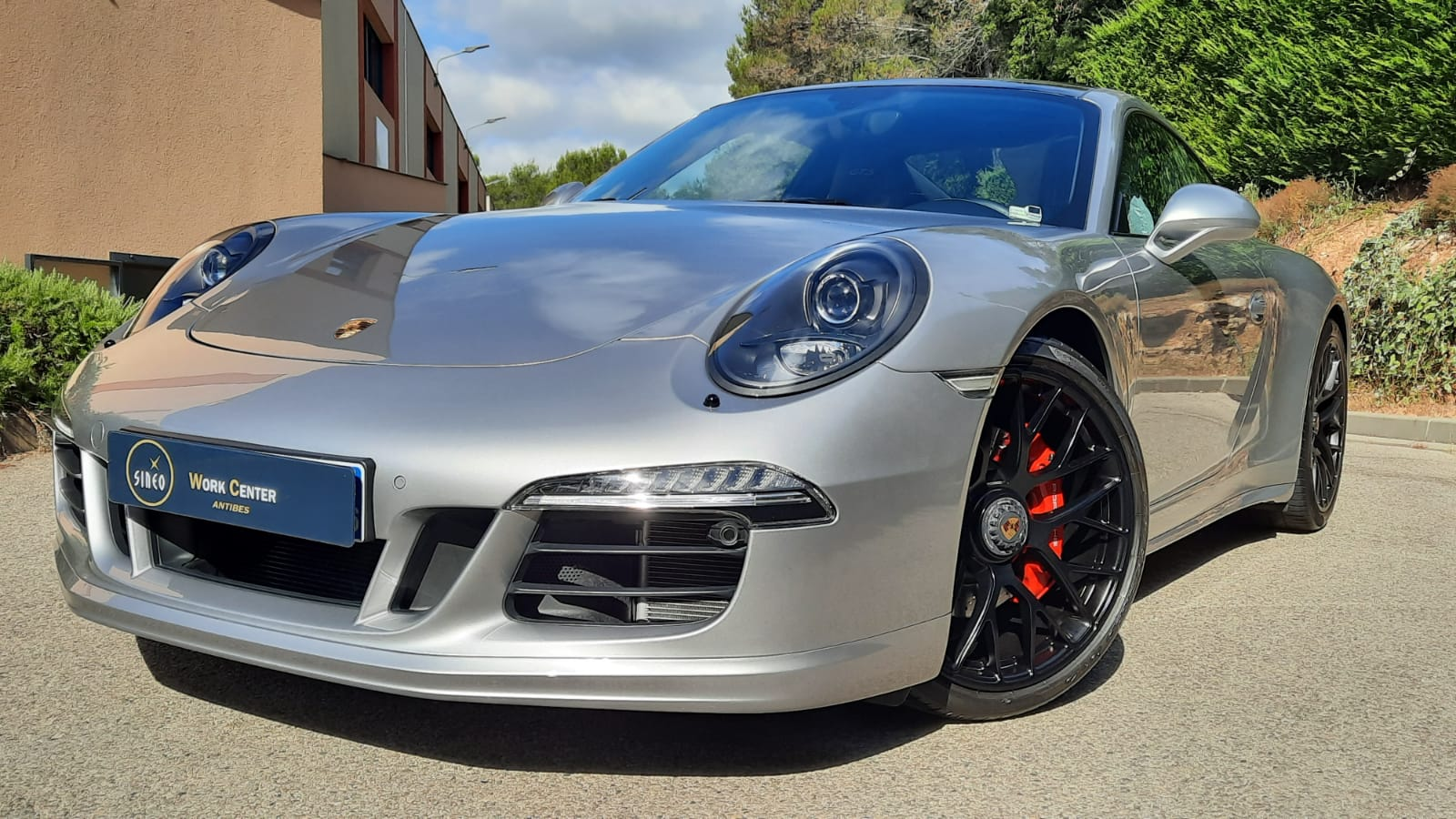 Pose traitement carrosserie Ceramic-Guard Si Carbon Cartec sur Porsche 911 GTS Carrera 4 Type 991